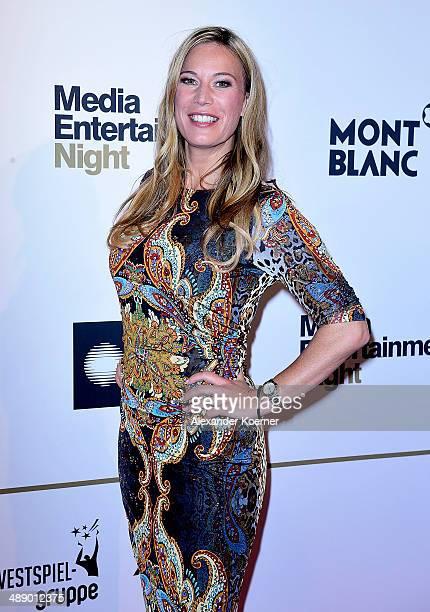 Presenter Birgit von Bentzel attends the Media Entertainment Night at Hotel im Wasserturm on May 9, 2014 in Cologne, Germany.