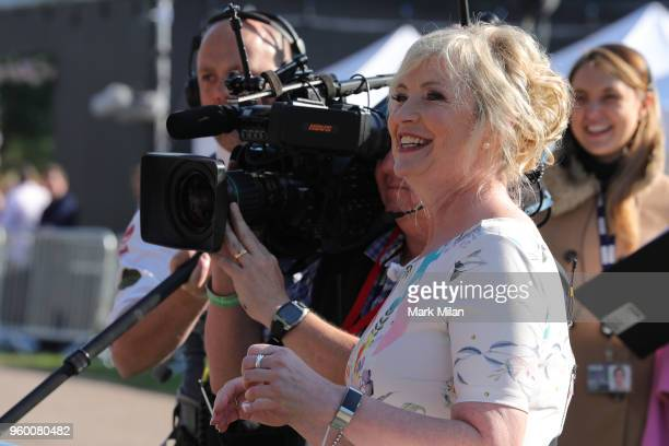 Presenter Carol Kirkwood attends the wedding of Prince Harry to Ms Meghan Markle at Windsor Castle on May 19 2018 in Windsor England Prince Henry...