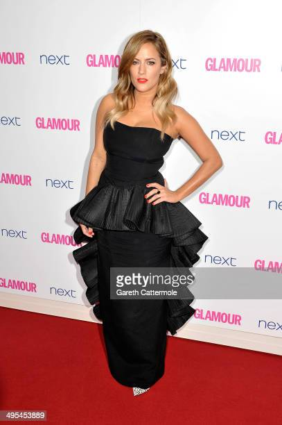 Presenter Caroline Flack attends the Glamour Women of the Year Awards at Berkeley Square Gardens on June 3 2014 in London England