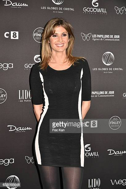 TV presenter Caroline Ithurbide attends Les Globes de Cristal Awards 11th Ceremony at Lido on January 30 2017 in Paris France