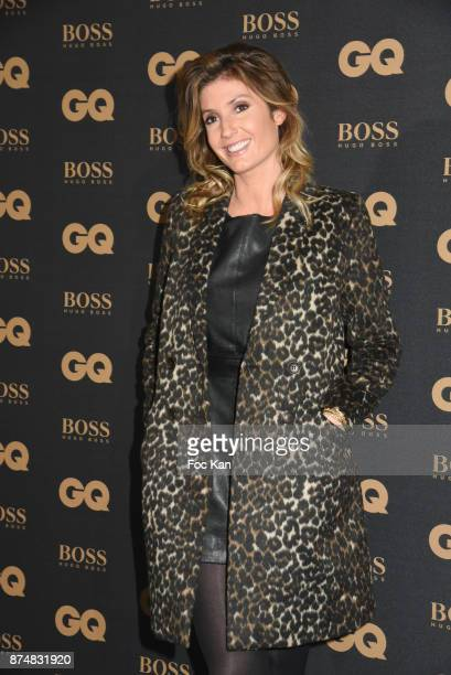 TV presenter Caroline Ithurbide attends the Les GQ Men Of The Year Awards 2017 Photocall at Trianon on November 15 2017 in Paris France