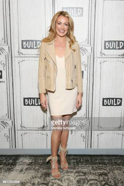 TV presenter Cat Deeley attends Build presents Cat Deeley discussing 'So You Think You Can Dance' at Build Studio on June 1 2017 in New York City