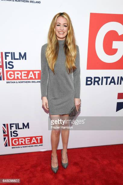 TV presenter Cat Deeley attends Film is GREAT Reception honoring the British Nominees of the 89th Annual Academy Awards Sponsored by British Airways...