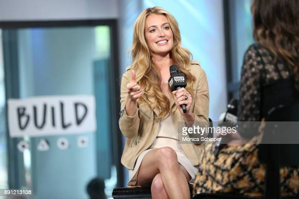 TV presenter Cat Deeley speaks on stage during Build presents Cat Deeley discussing So You Think You Can Dance at Build Studio on June 1 2017 in New...