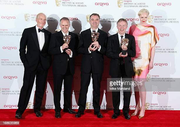 Presenter Charles Dance winners of the Best Entertainment Programme for 'The Graham Norton Show' Steve Smith Jon Magnusson Graham Stuart and...