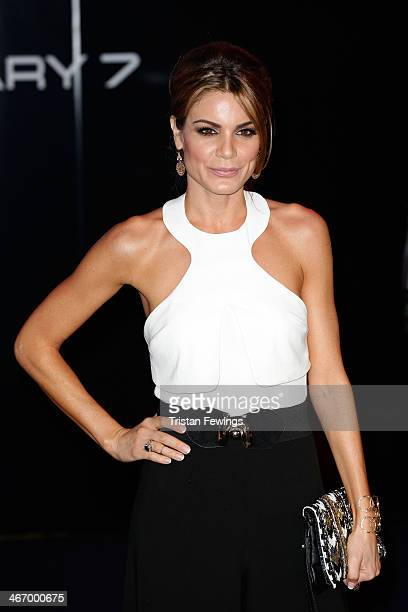 Presenter Charlotte Jackson attends the World Premiere of 'Robocop' at BFI IMAX on February 5 2014 in London England