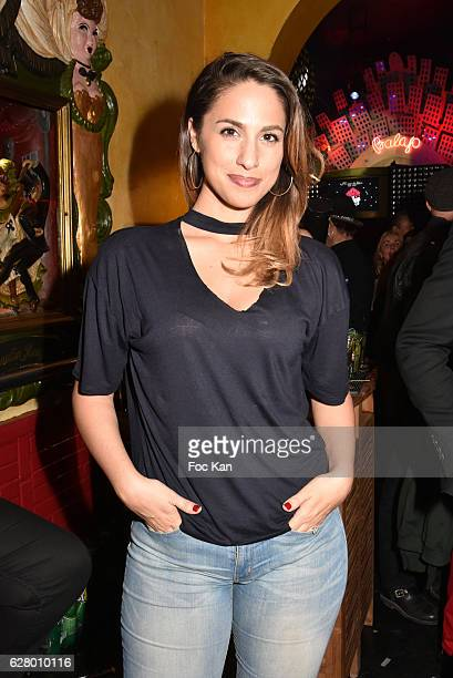 TV presenter Charlotte Namura attends Balajo 80th Anniversary Party at Balajo on December 5 2016 in Paris France