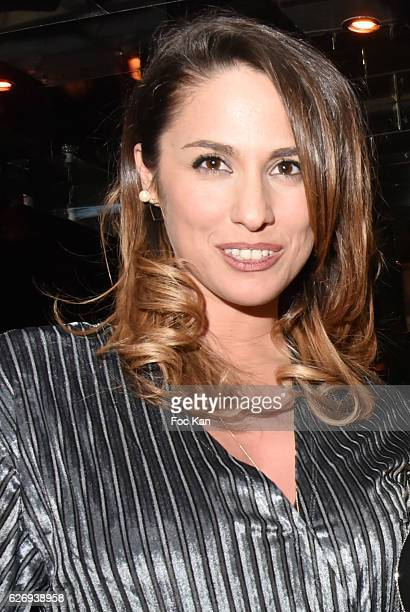 TV presenter Charlotte Namura attends Charlotte Namura and Clio Pajczer DJ Party at La Gioia in VIP Room Theater on November 30 2016 in Paris France