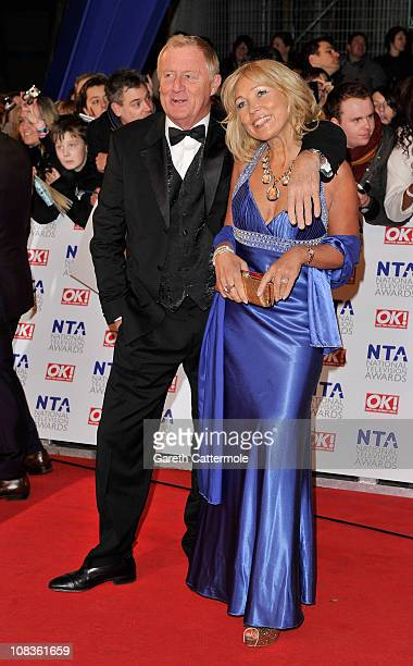 TV presenter Chris Tarrant and Jane Bird attend the National Television Awards at the O2 Arena on January 26 2011 in London England