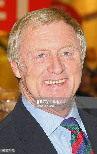 TV presenter Chris Tarrant poses during the Morrisons' Charity Of The Year photocall at Camden Morrisons on November 23 2009 in London England...