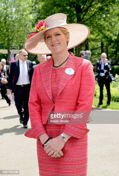 Presenter Clare Balding attends day one of Royal Ascot at Ascot Racecourse on June 17 2014 in Ascot England