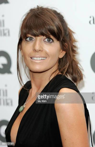 Presenter Claudia Winkleman arrives for the GQ Men of the Year Awards 2005 at the Royal Opera House Covent Garden on September 6 2005 in London