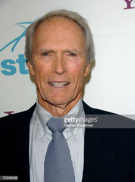 Presenter Clint Eastwood poses in the press room at The Hollywood Film Festival 10th Annual Hollywood Awards Gala Ceremony at the Beverly Hilton...