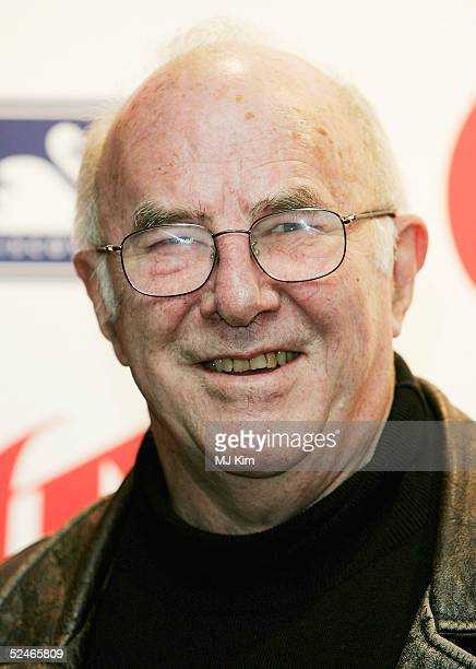 TV presenter Clive James arrives at the Oldie Of The Year Awards honouring veteran notables together with Britain's oldest celebrity superstars at...