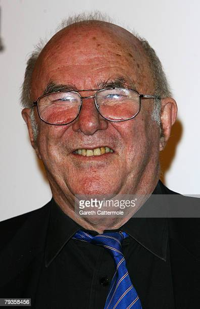 TV presenter Clive James poses during the South Bank Show Awards 2008 at The Dorchester on January 29 2008 in London England