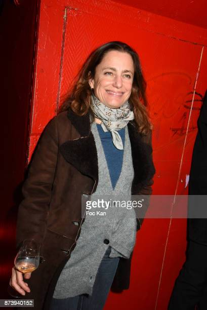TV presenter Colombe Schneck attends 'Les Fooding 2018' Cocktail at Les Follies Pigalle 11 Place Pigalle on November 13 2017 in Paris France
