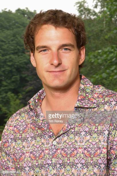 TV presenter Dan Snow portrait United Kingdom 2006