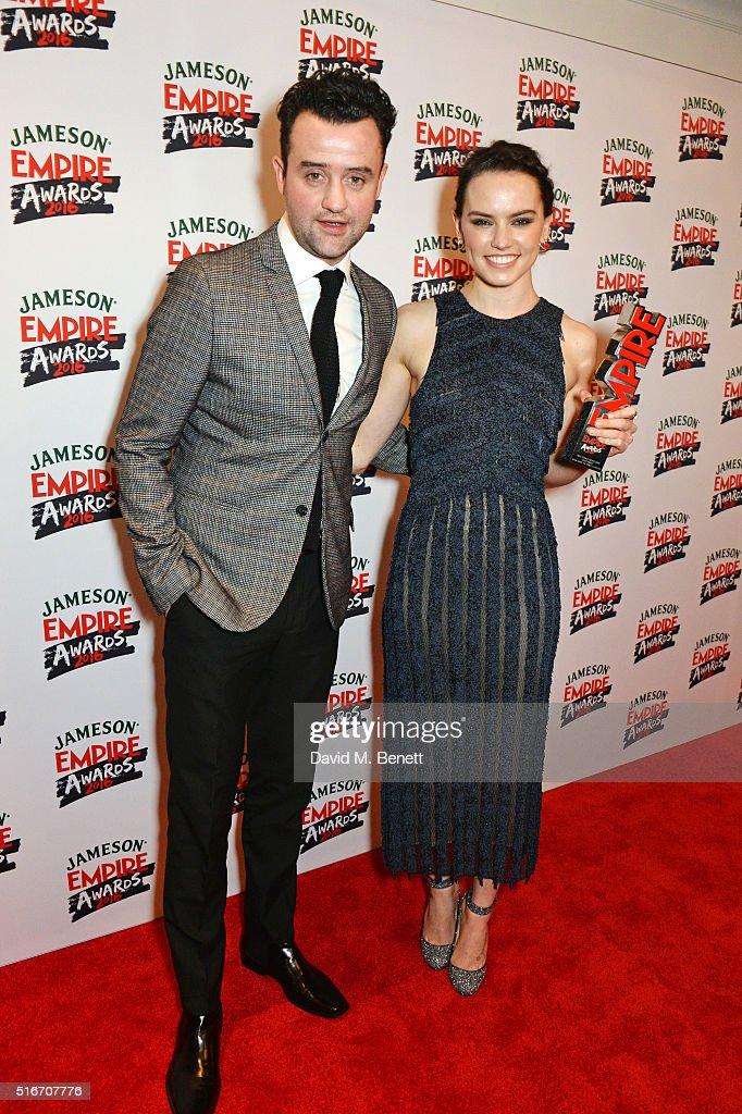 Jameson Empire Awards 2016 - Winners Room : News Photo