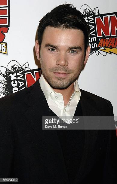 Presenter Dave Berry arrives at the Shockwaves NME Awards 2006 the weekly music magazine's annual awards at which winners are decided by a readers'...