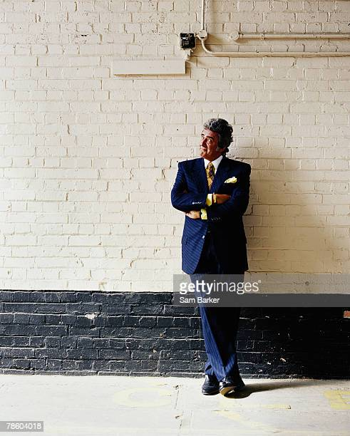 TV presenter David Dickinson poses for a portrait shoot in London on June 1 2005