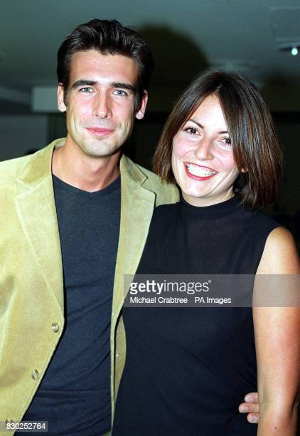 TV presenter Davina McCall and Matthew Robertson arrive at the Elle Magazine Style awards ceremony at the Home nightclub London