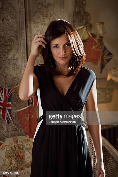 Presenter Davina McCall is photographed for Easy Living on November 27 2008 in London England PUBLISHED IMAGE