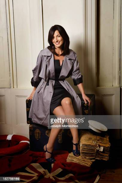 Presenter Davina McCall is photographed for Easy Living on November 27 2008 in London England