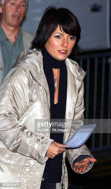 Presenter Davina McCall outside the Big Brother house at Elstree Studios in north London where six celebrity contestants will be given the same...