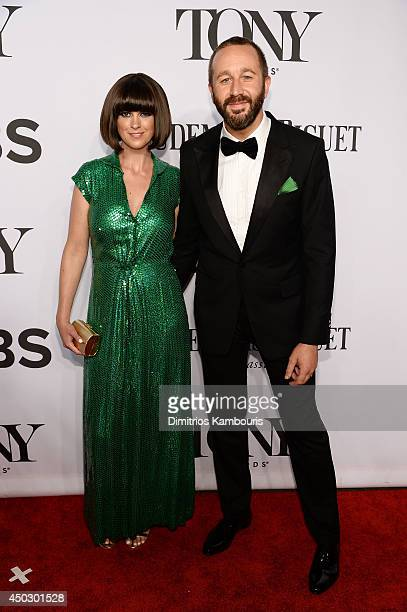 Presenter Dawn O'Porter and actor Chris O'Dowd attends the 68th Annual Tony Awards at Radio City Music Hall on June 8 2014 in New York City
