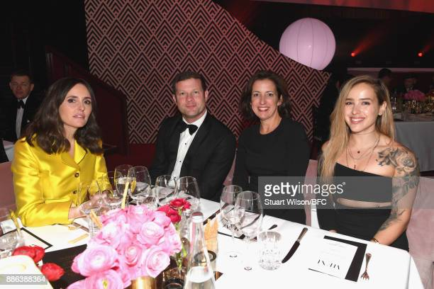 Presenter Dermot O'Leary and guests during The Fashion Awards 2017 in partnership with Swarovski at Royal Albert Hall on December 4 2017 in London...
