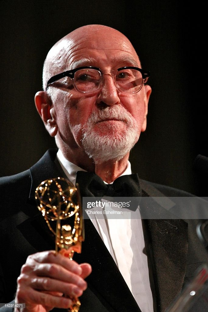 Presenter Dominic Chianese attends the 55th Annual New York Emmy Awards gala at the Marriott Marquis Times Square on April 1, 2012 in New York City.