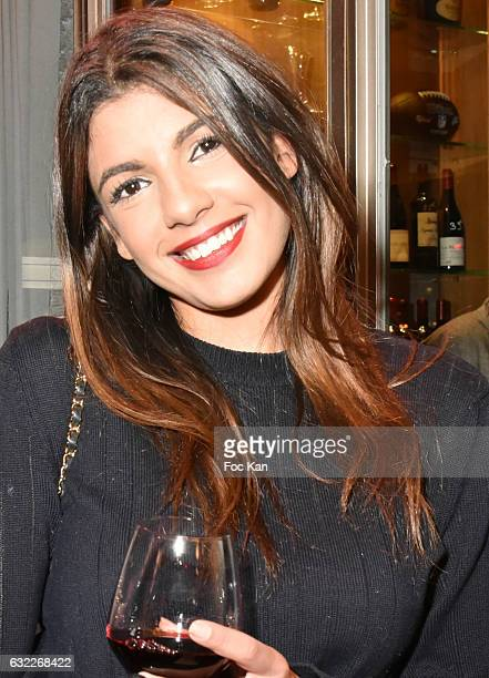 TV presenter Donia Eden attends the Apero Tartiflette Party Hosted by Grand Seigneur Magazine at Bistrot Marguerite on January 20 2017 in Paris France