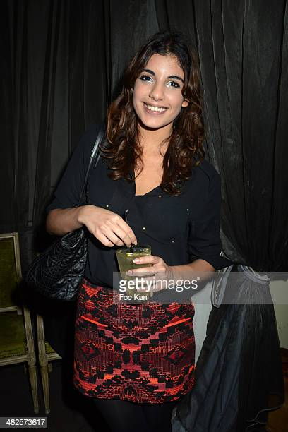 TV presenter Donia Eden attends the 'Les Gerard De La Television 2014' Award Ceremony At La Cigale and After Party at Le Carmen In Paris on January...