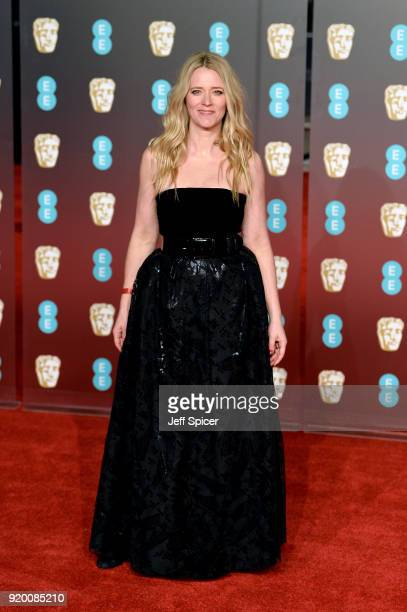 Presenter Edith Bowman attends the EE British Academy Film Awards held at Royal Albert Hall on February 18 2018 in London England