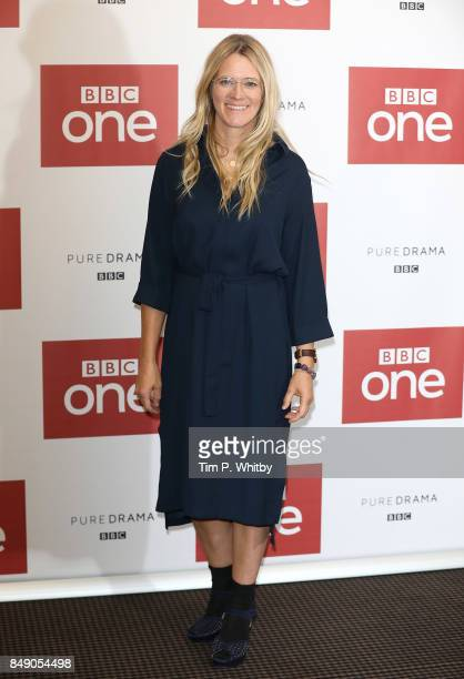 Presenter Edith Bowman poses for a photo ahead of a preview screening of 'The Child In Time' at BAFTA on September 18 2017 in London England
