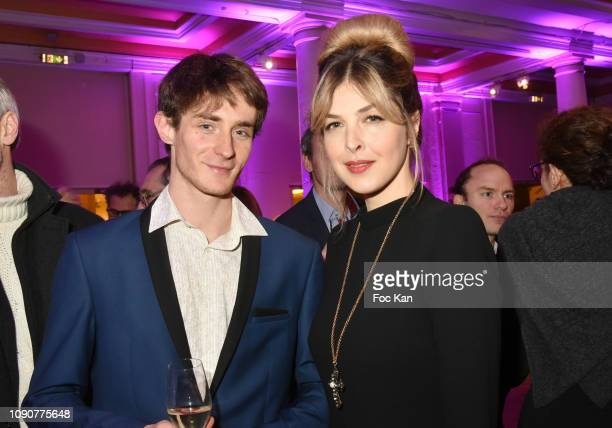TV presenter Eleonore Boccara and Sylvain attend the Gala du CÏur Auction Concert To Benefit Mecenat Chirurgie Cardiaque At Salle GaveauÊ on January...