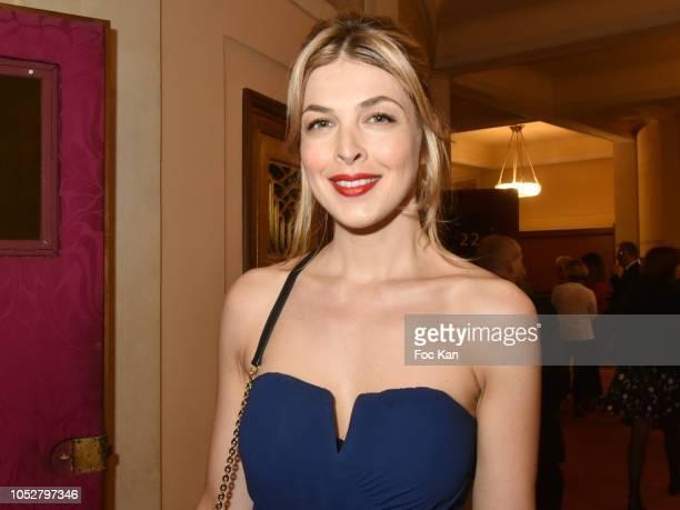 TV presenter Eleonore Boccara attends26th Gala de L'Espoir Ligue contre Le Cancer at Theatre des Champs Elysees on October 22 2018 in Paris France