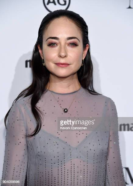Presenter Erin Flaherty attends the Marie Claire's Image Makers Awards 2018 at Delilah LA on January 11 2018 in West Hollywood California