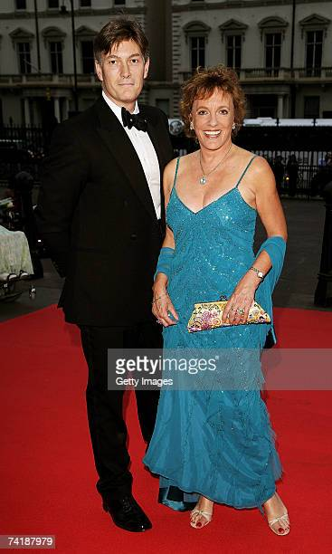 TV presenter Esther Rantzen and her guest arrive at The Bedrock Ball at the Natural History Museum where Tina Turner is due to perform for the first...