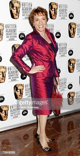 TV presenter Esther Rantzen arrives at the 11th British Academy Children's Film Television Awards at the Park Lane Hilton hotel on November 26 2006...