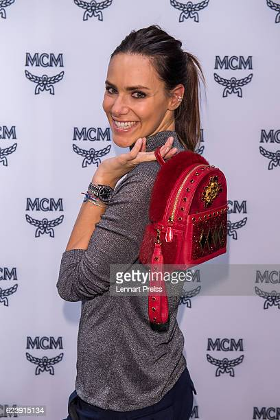 TV presenter Esther Sedlaczek attends the MCM 40th Anniversary event on November 17 2016 in Munich Germany