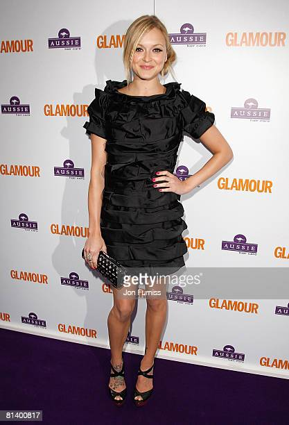 TV presenter Fearne Cotton attends the Glamour Women Of The Year Awards held at Berkeley Square Gardens on June 3 2008 in London England