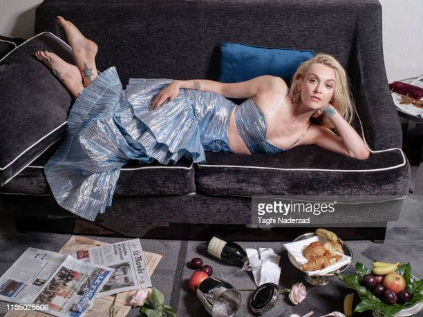 TV presenter Fearne Cotton is photographed for Red Magazine UK on May 23 2018 in Paris France