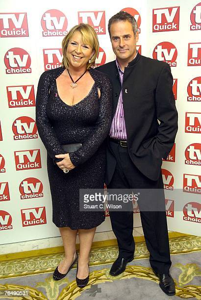 Presenter Fern Britton and Phil Vickery arrive for the TV Quick TV Choice awards at the Dorchester Hotel on September 03 2007 in London England