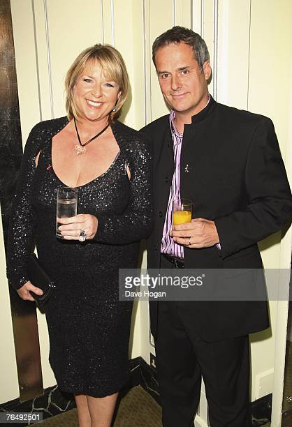 Presenter Fern Britton and Phil Vickery attend the 2007 TV Quick and TV Choice Awards At the Dorchester Hotel on September 03 2007 in London England