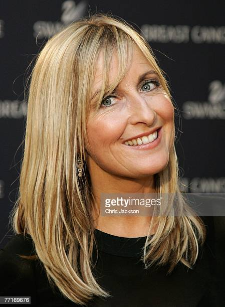 Presenter Fiona Phillips poses for a photograph before the Breast Cancer Care Annual Fashion Show at the Grosvenor House Hotel on October 3 2007 in...