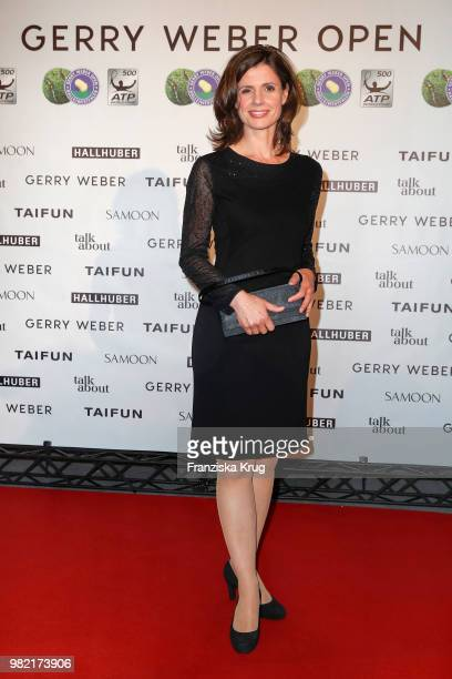 Presenter Franziska Schenk attends the Gerry Weber Open Fashion Night 2018 at Gerry Weber Stadium on June 23 2018 in Halle Germany