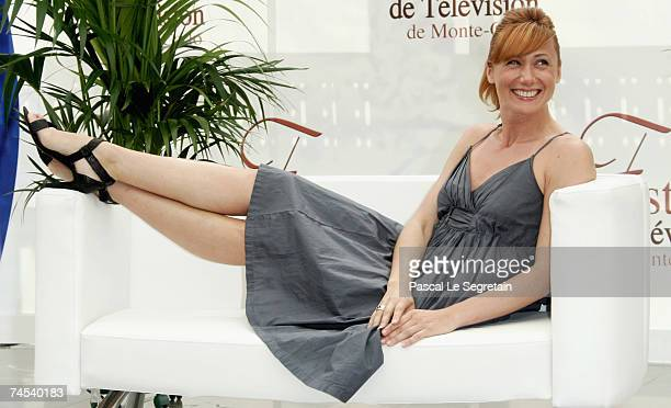 TV presenter Fred Courtadon attends a photocall on the first day of the 2007 Monte Carlo Television Festival held at Grimaldi Forum on June 11 2007...