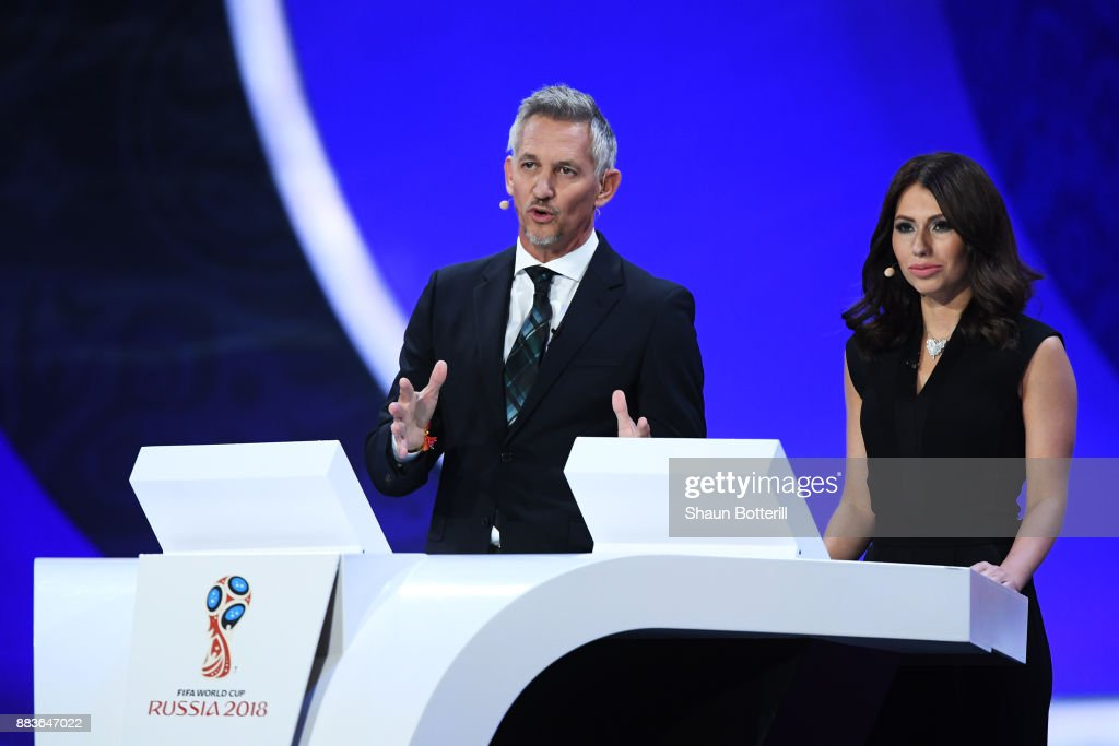 Final Draw for the 2018 FIFA World Cup Russia : News Photo