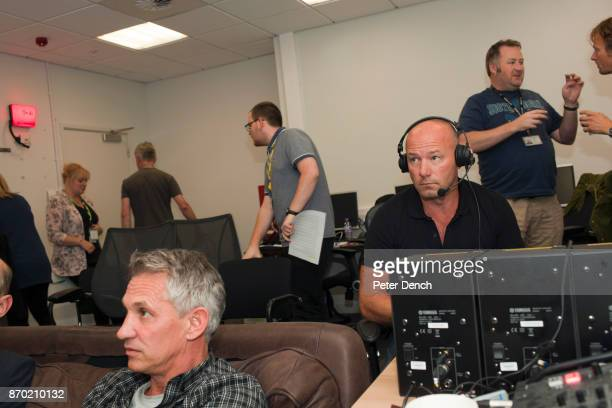 MOTD presenter Gary Lineker and pundit Alan Shearer watch Saturday premiership football being screened at the BBC Match of the Day is the BBC's main...